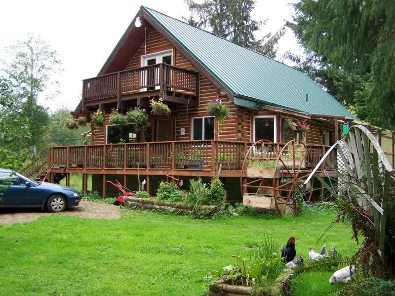 Wolf Den Cabin Rental: 8343 La Push Rd, Forks, WA
