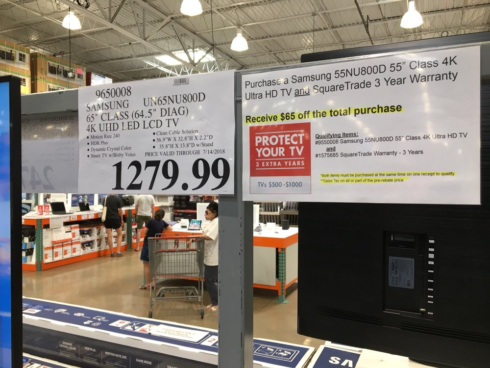Best Prices On Tvs Now Costco Includes Free Extra 3 Yr Warranty
