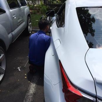 photo of mirage paintless dent repair kailua hi united states troy doing