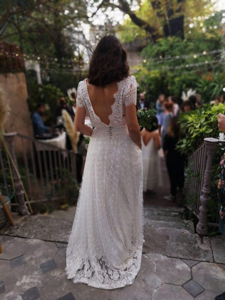 Custom Made Wedding Dress Christina Sfez Yelp