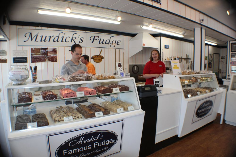 Murdick's Famous Fudge: 219 E Central Ave, Mackinaw City, MI