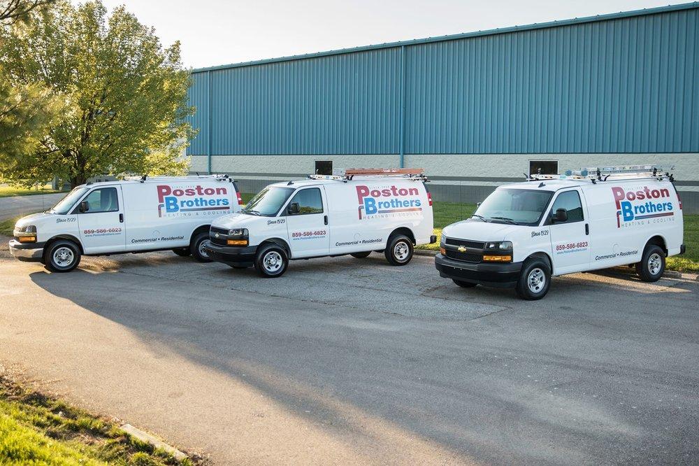 Poston Brothers Heating & Cooling: 5555 N Bend Rd, Burlington, KY