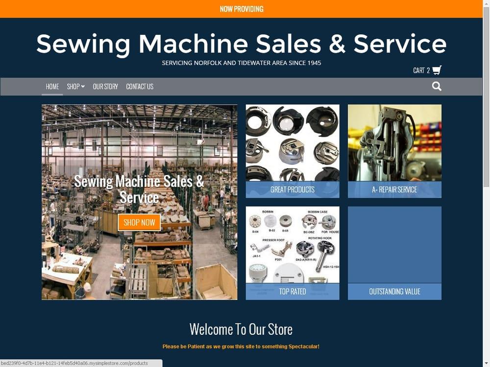 Sewing Machine Sales Service