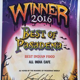 All India Cafe Pasadena Ca
