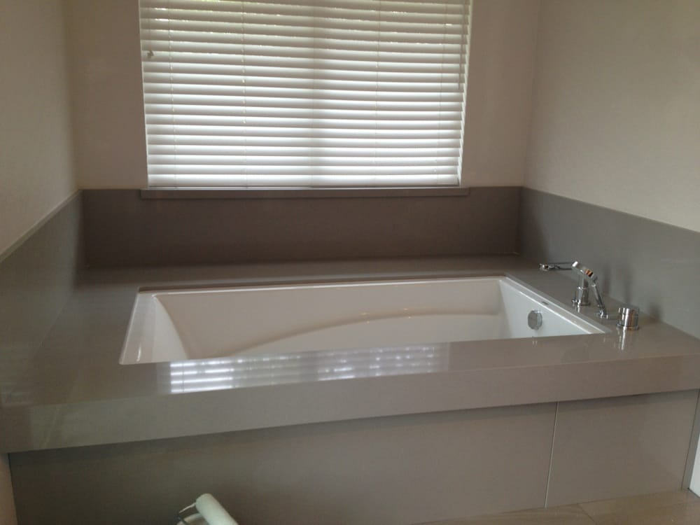 Solid Surface Tub Deck | o2 Pilates