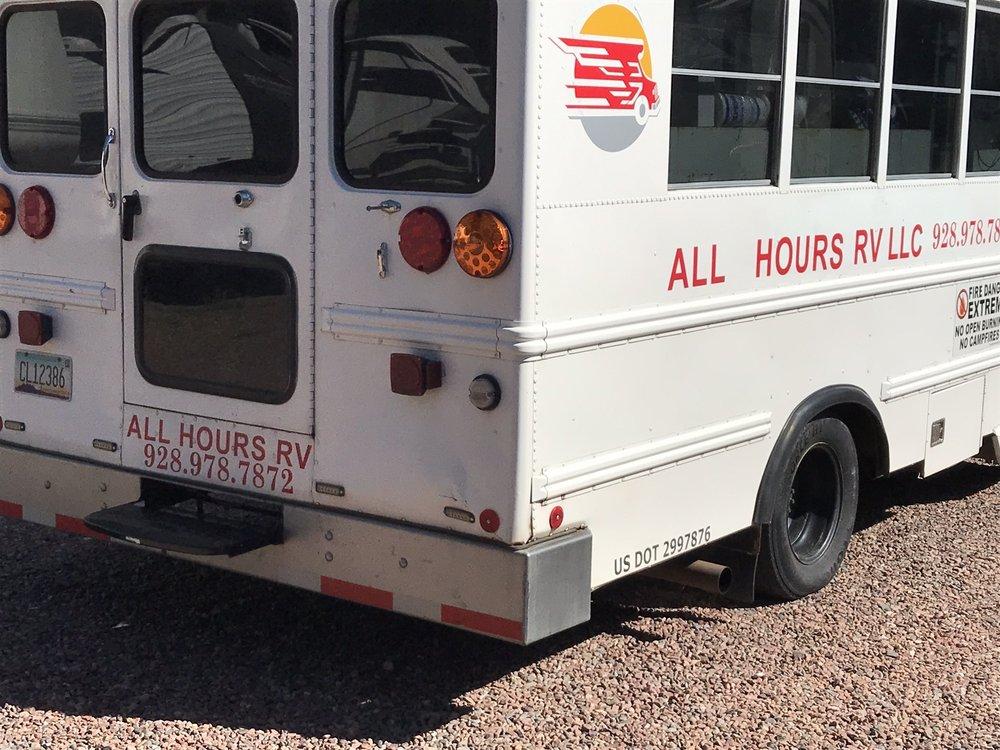 All Hours RV: 117 Quail Trl, Tonto Basin, AZ
