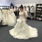 aef589b83ba0 1st communion dresses Photo of Erika's Couture Boutique - Conroe, TX,  United States. Beautiful bridal gowns ...