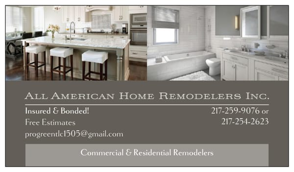 Photo for All American Home Remodeling Services. All American Home Remodeling Services   Contractors   Mattoon  IL