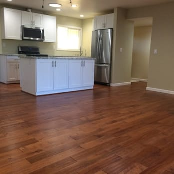 Gew hardwood flooring 125 photos 55 reviews flooring for Birch kitchen cabinets review