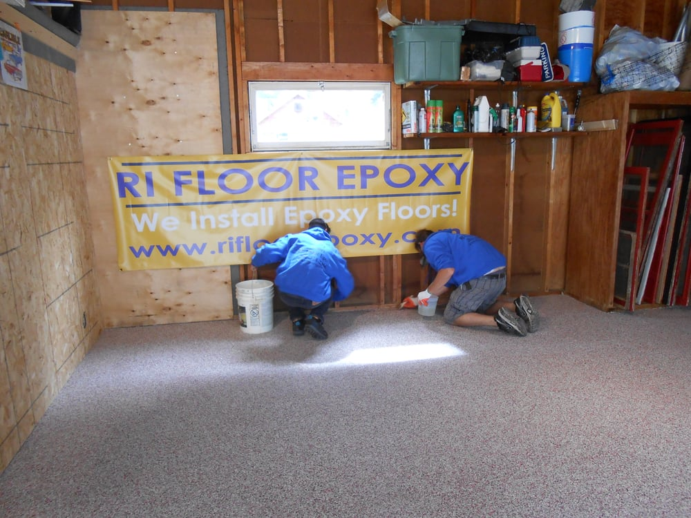 RI Floor Epoxy: 151 James St, Slinger, WI