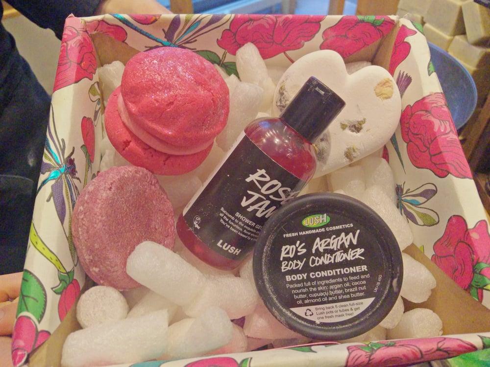 Geschenkbox lush