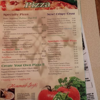 Mama gina s 32 photos 25 reviews pizza 61 2nd st for Pizzeria gina st priest menu