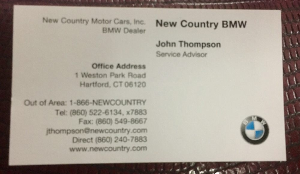 New Country BMW  38 Reviews  Car Dealers  Hartford CT  1