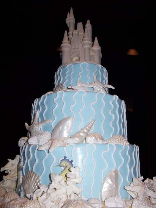 Under the Sea wedding cake incredible Yelp