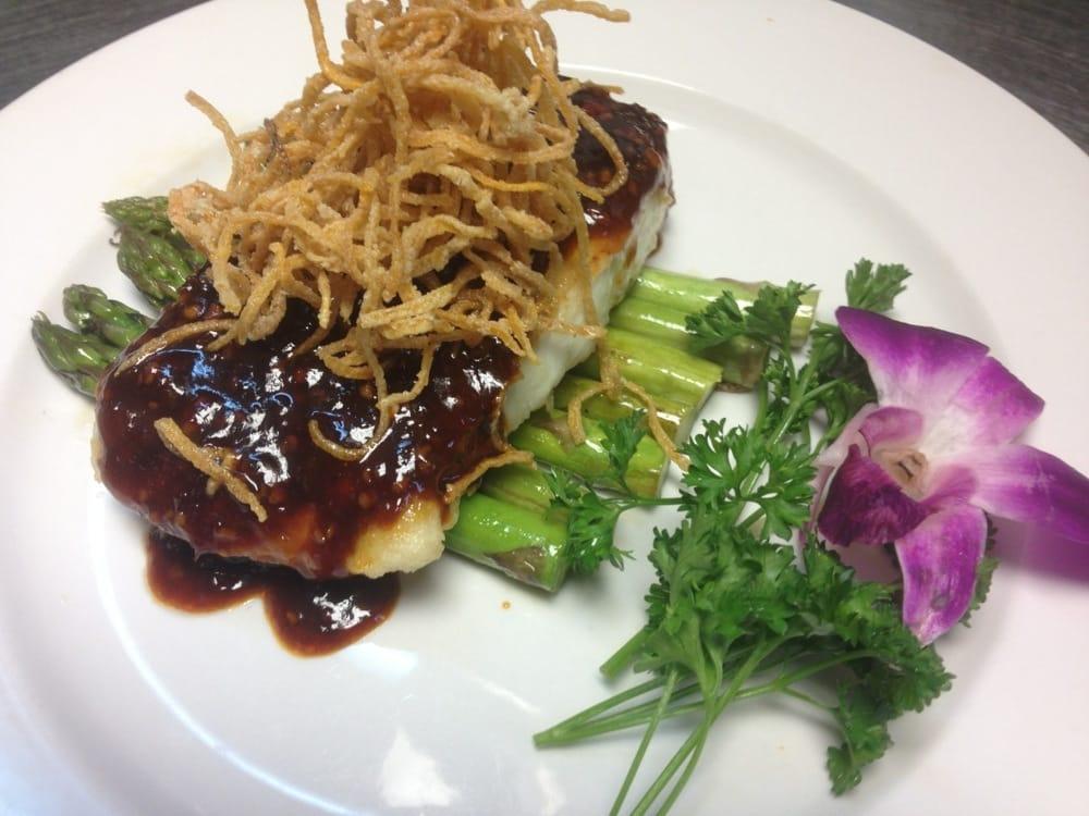 Alaskan halibut yelp for Asian fusion cuisine and sushi bar