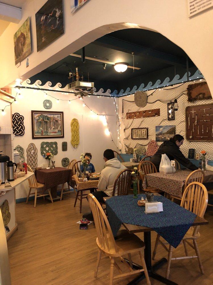 Monk's Rock Coffee House: 202 E Rezanof Dr, Kodiak, AK
