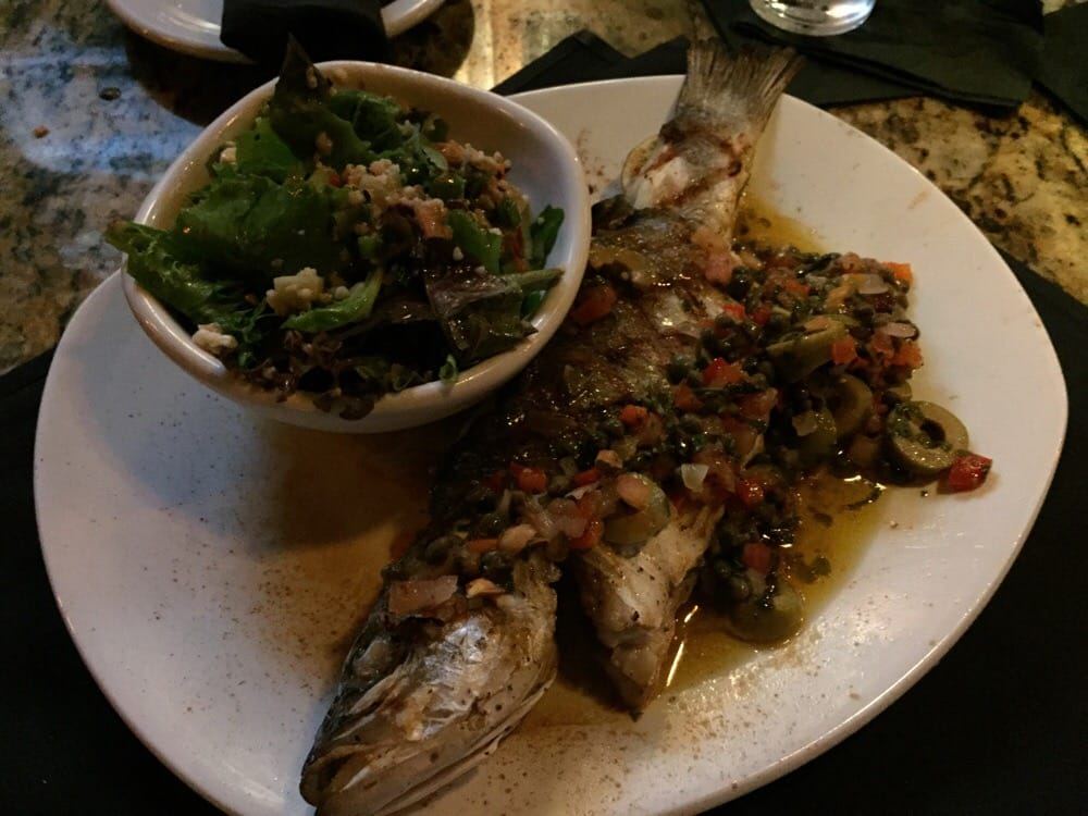 Branzino Whole Fish From The Specials Menu Delish Yelp