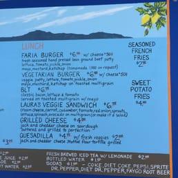 Photo Of Faria Beach Cafe Ventura Ca United States Lunch Menu