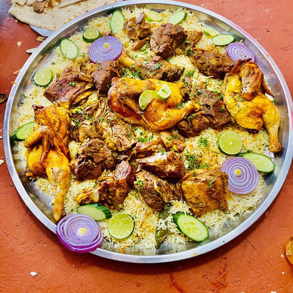 Food from Yemen Arab Resturant