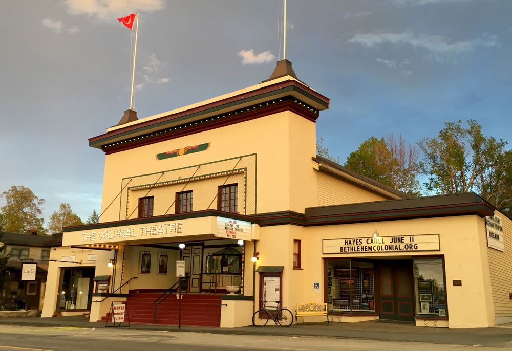 The Colonial Theatre: 2050 Main St, Bethlehem, NH