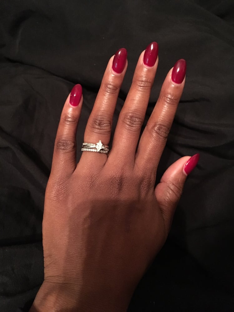 I get the dip powder since my nails are thin so this is my natural ...