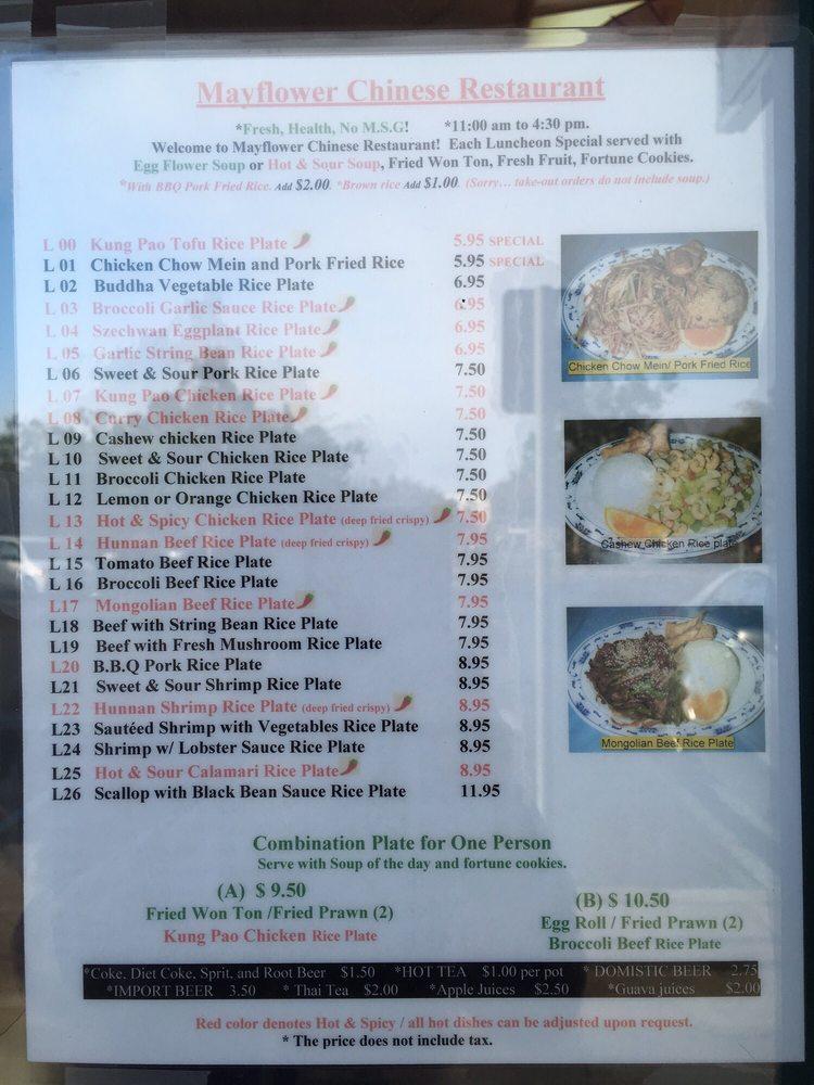 Mayflower Chinese Restaurant Capitola Ca