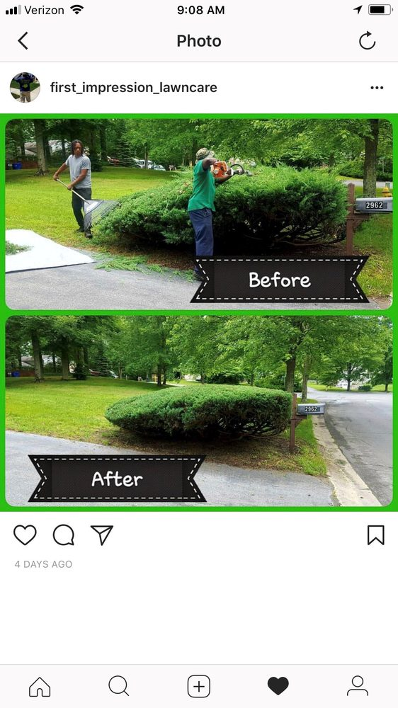First Impression Lawn Care: Waldorf, MD