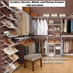 Photo Of Creative Closets, Blinds, And Picture Frames   Saskatoon, SK,  Canada