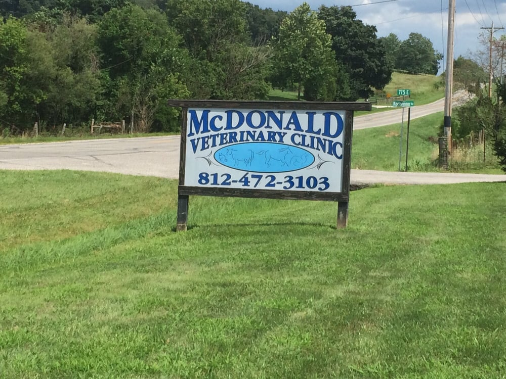 McDonald Veterinary Clinic: 7749 US-150, Hardinsburg, IN