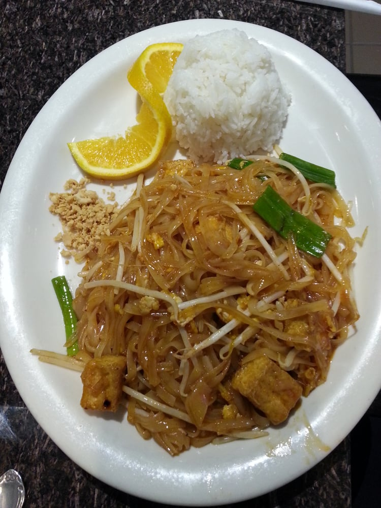 Pad thai with tofu yelp for Angel thai cuisine riverside