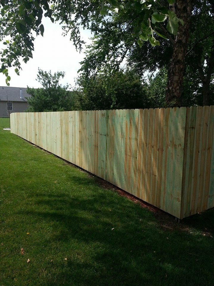Swinging Gate Fence: 409 S Lincoln Ave, Springfield, IL