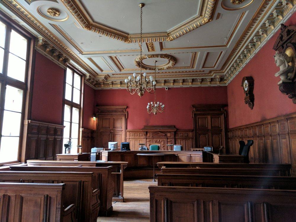 tribunal de grande instance de paris courthouses 2945 avenue de la porte de clichy 17 me. Black Bedroom Furniture Sets. Home Design Ideas