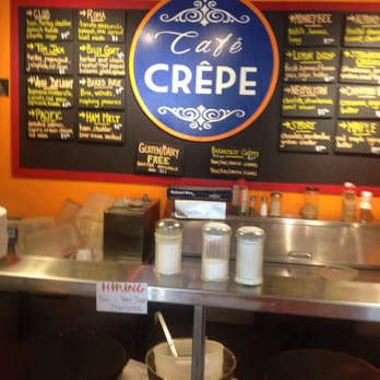 Photo Of Cafe Crepe Freeport Me United States The Menu