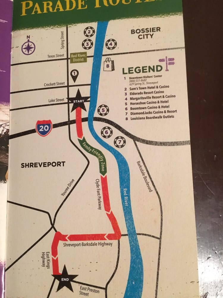 Shreveport casino locations map casino royale summary