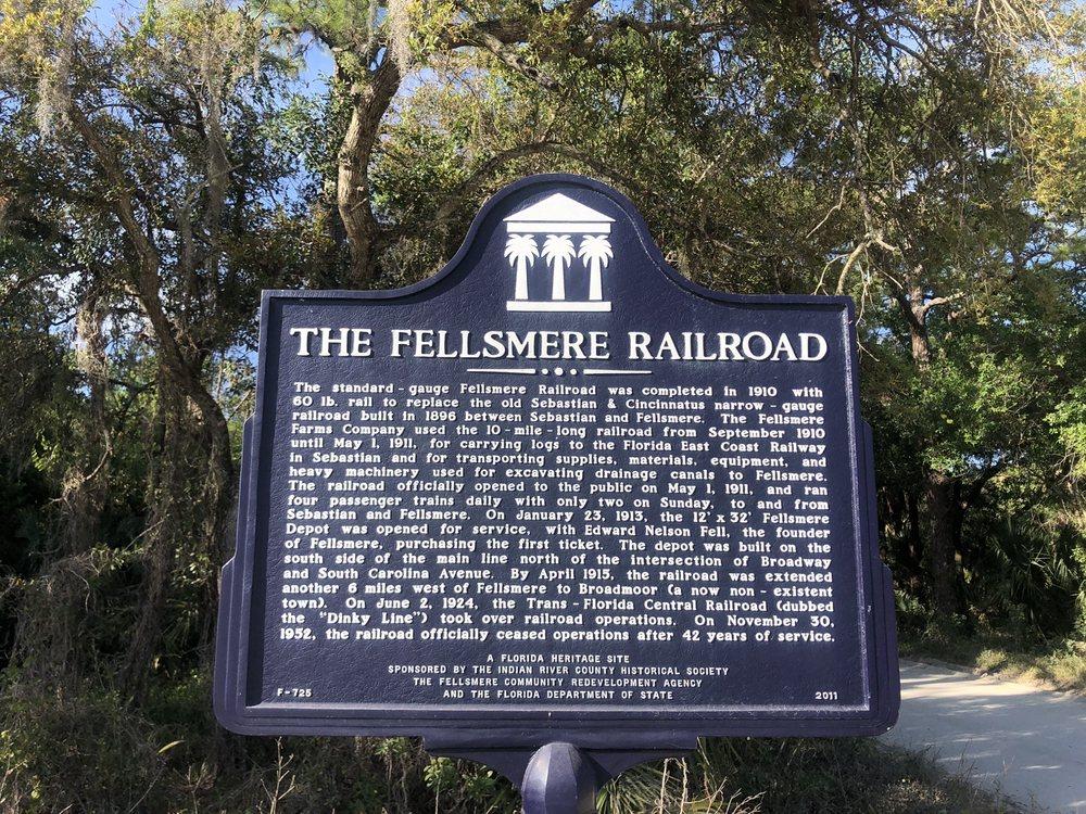 The Fellsmere Railroad: 154 N Broadway St, Fellsmere, FL