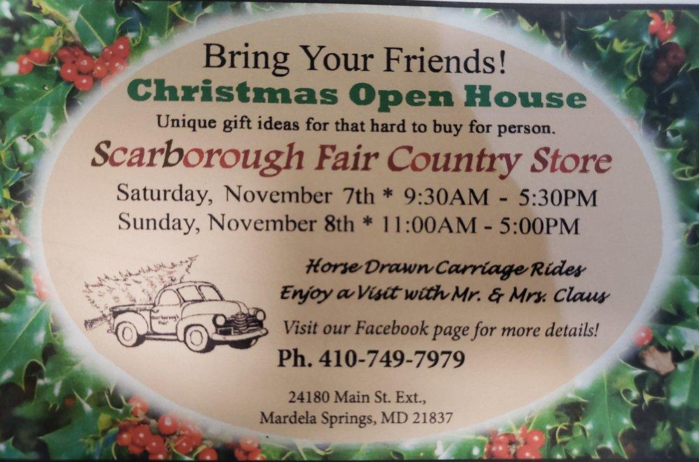 Scarborough Fair: 24180 Main St, Mardela Springs, MD
