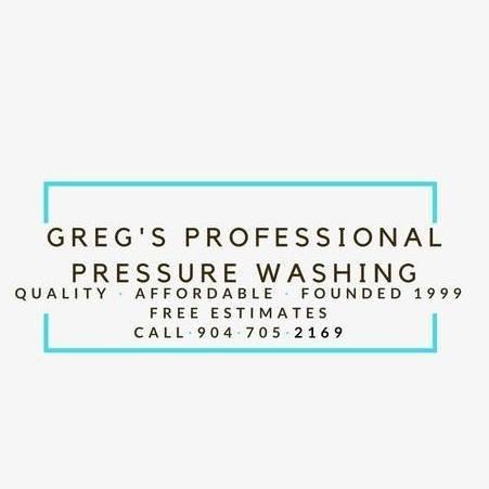 Greg's Professional Pressure Washing: 8612 Partner Ct, Jacksonville, FL