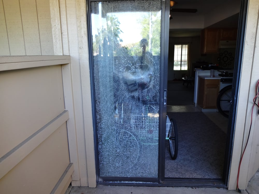 Replacement Of Glass In Broken Patio Door Yelp