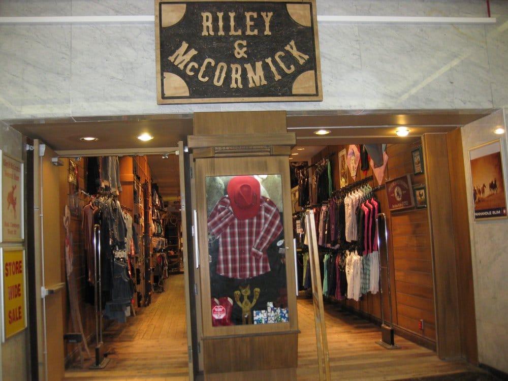 5988e6a8219 Riley & McCormick - CLOSED - Men's Clothing - 205 8 Avenue SW ...