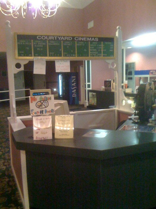 Courtyard Cinema: 248 S Huron Ave, Mackinaw City, MI