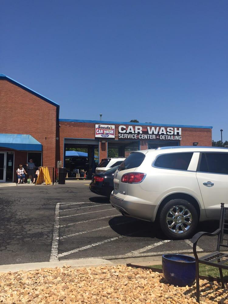 Squeaky Car Wash Suwanee Ga