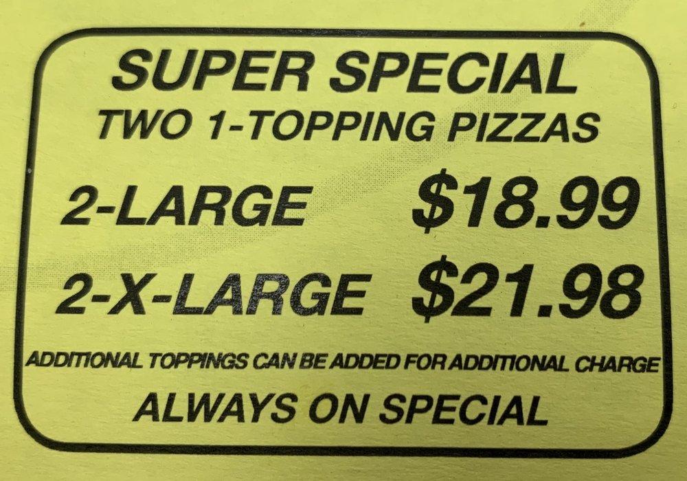 Eaton Pizza & Subs: 123 1st St, Eaton, CO