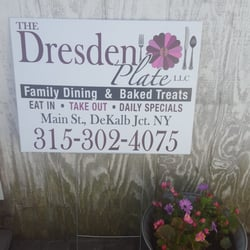 The Dresden Plate - Desserts - 4342 US Hwy 11, De Kalb Junction, NY