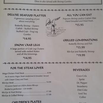 Katfish Kitchen Lumberton Menu