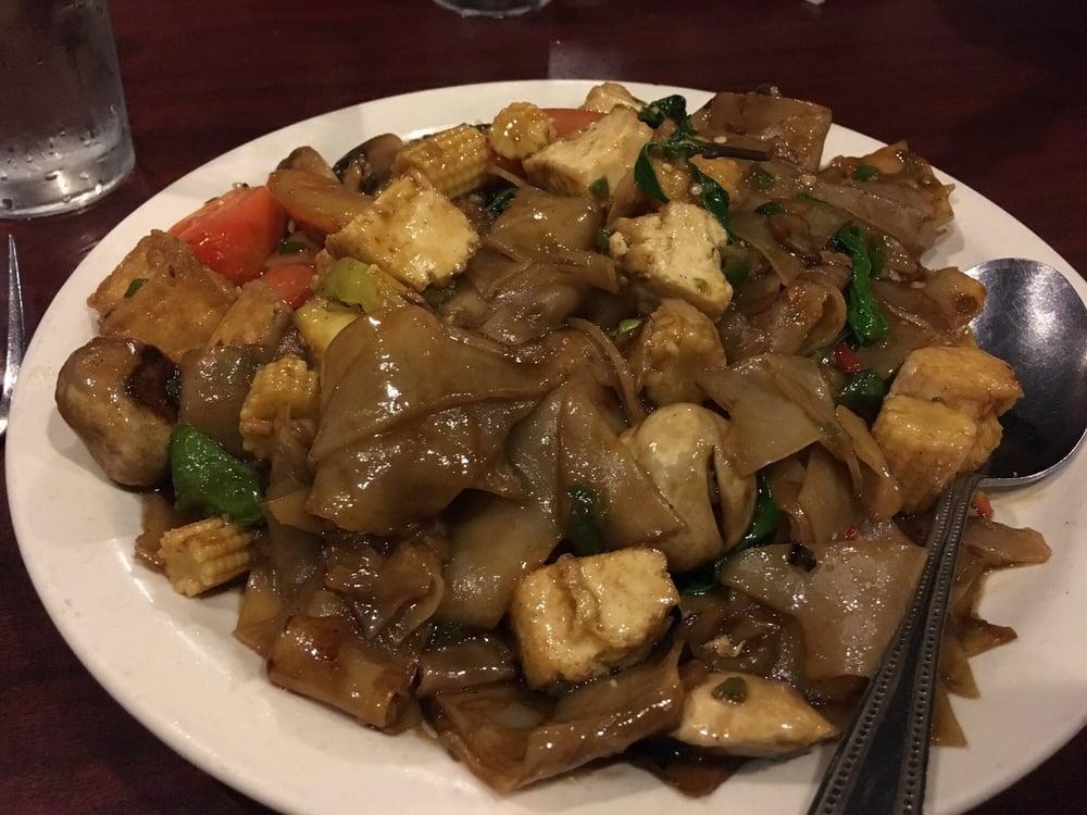 Sawadee Utah Thai Restaurant Salt Lake City Tofu drunken noodles
