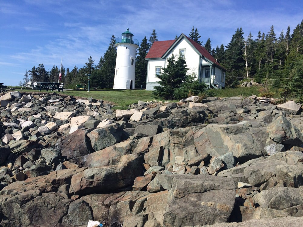 Little River Lighthouse: 985 Cutler Rd, Whiting, ME