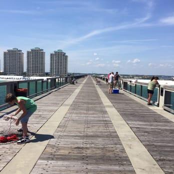 Photo Of Navarre Beach Park Fishing Pier Fl United States