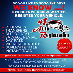 1 Auto Registration - 2019 All You Need to Know BEFORE You