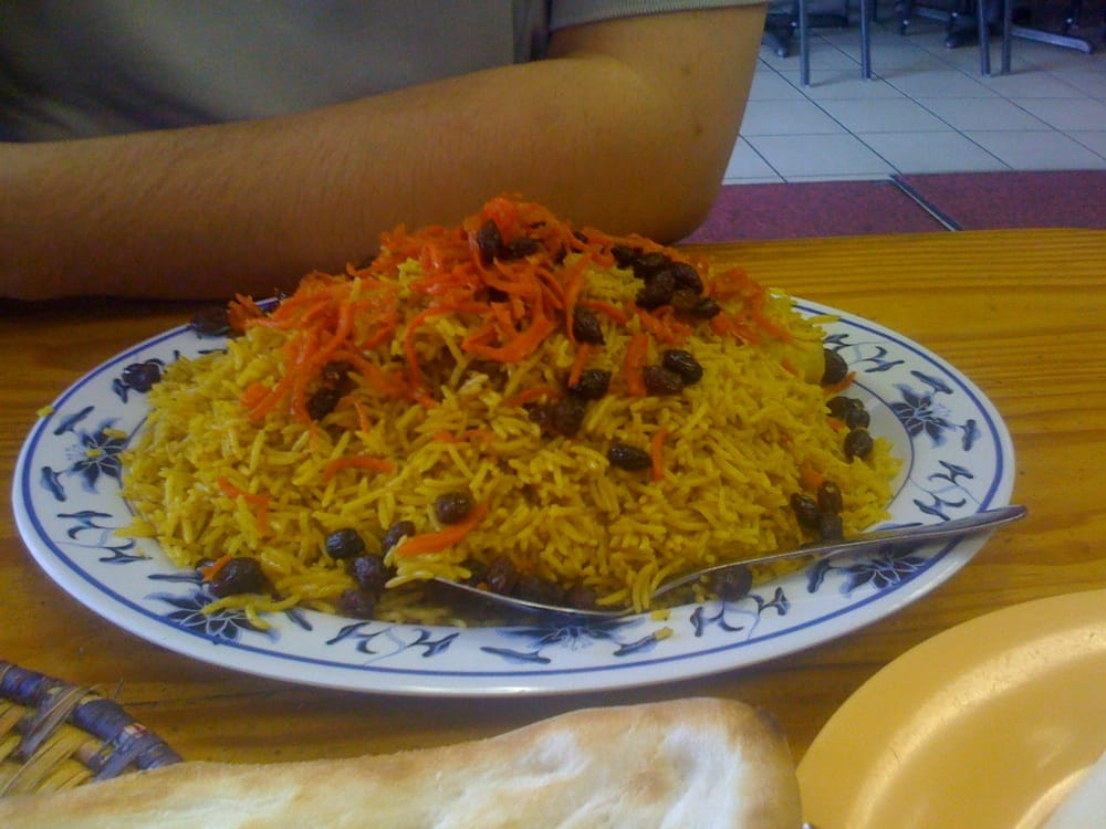 Kabuli pulao yelp for Afghan cuisine houston tx