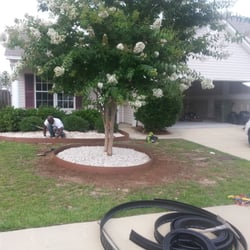 Magic plus services llc closed plumbing garners for Landscaping rocks columbia sc